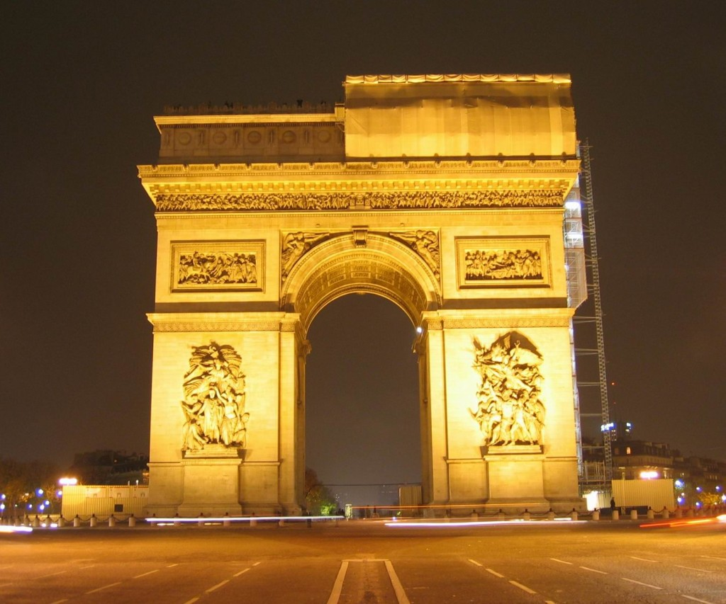 france travel arc de triomphe holidays paris accomodation in paris france travel. Black Bedroom Furniture Sets. Home Design Ideas