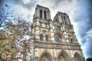 The Notre Dame de Paris Cathedral